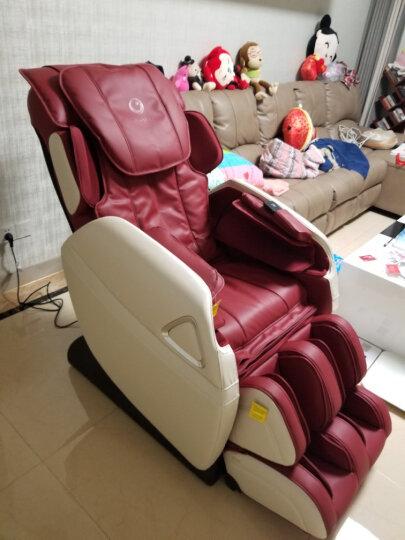 奥佳华(OGAWA)按摩椅家用全身太空舱机械手电动按摩沙发椅子7508S摩行者 复古棕 京东仓 晒单图