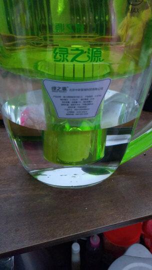 绿之源 智能屏显净水壶3.5L 家用办公便携净水器 直饮自来水过滤器滤水壶净水杯 一壶一芯 再送2个芯 晒单图