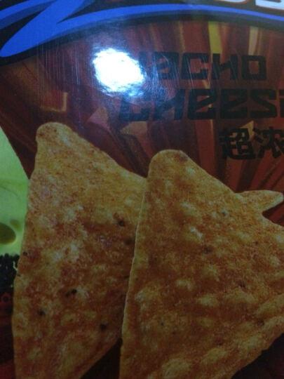 多力多滋Doritos超浓芝士味玉米片 中国台湾零食薯片 夜电美式辣鸡翅味65g 晒单图