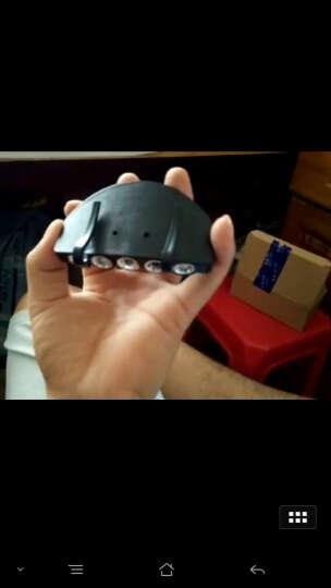 魔铁/MOTIE  夹帽灯 钓鱼头灯帽夹灯帽檐灯帽子夹灯登山野营工具灯户外配件 黑色 晒单图