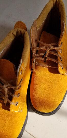 谋福(CNMF) 谋福 翻毛牛皮劳保鞋工作鞋户外鞋   橡胶大底 45 晒单图