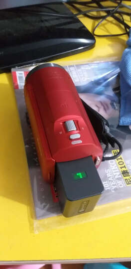 索尼(SONY)HDR-CX680 高清数码摄像机 5轴防抖 30倍光学变焦(红色) 家用DV/摄影/录像 晒单图