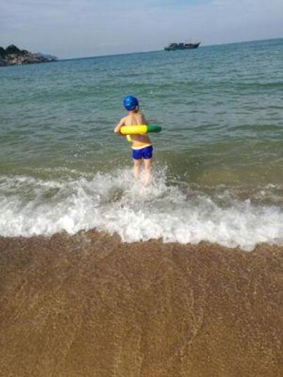 捷佳(JIEJIA) 儿童泳镜3件套装 游泳镜 儿童游泳训练装备男女童 黄色泳镜+中号背漂+鼻夹 晒单图