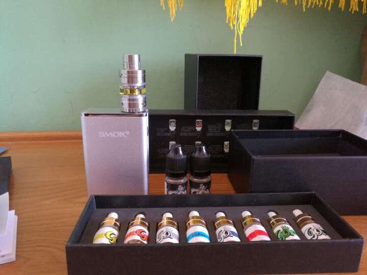 SMOK R80电子烟套装 M升级米克罗 80W大功率烟盒 内置电池充电电子烟 戒烟产品 银色 套装 晒单图