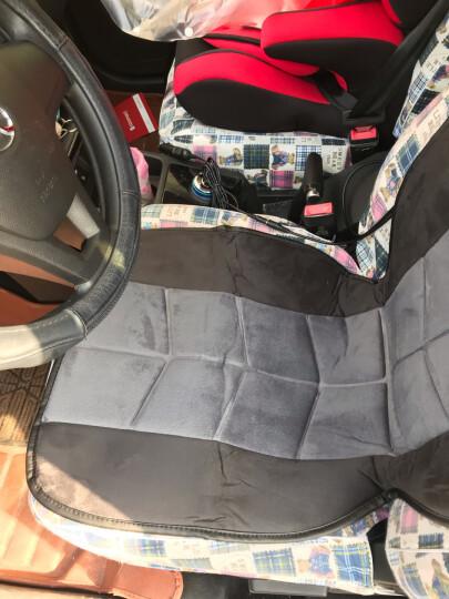 COMFIER 2613 汽车加热坐垫 冬季保暖电加热座椅垫 12-24V通用 单座 晒单图
