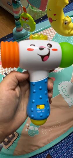 澳贝(AUBY)儿童玩具 探索电子锤 婴幼儿童声光敲打 463463DS男孩女孩玩具 晒单图