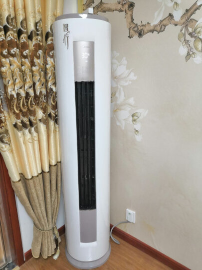 美的(Midea)空调2匹/3匹定速空调柜机 家用立柜式客厅定频圆柱空调美的立式空调柜机空调一键除湿 KFR-51LW/DY-YA400(D3)2匹 晒单图