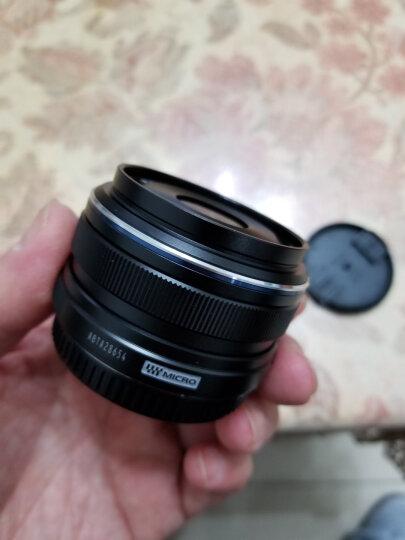 奥林巴斯(OLYMPUS) M.ZUIKO DIGITAL 17mm f1.8广角定焦大光圈镜头 高品质抓拍 金属镜身 等效34mm 黑色 晒单图