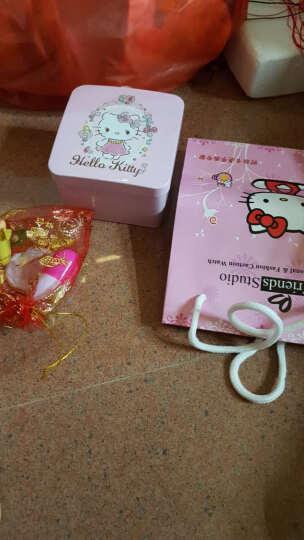 凯蒂猫(hellokitty)儿童手表女孩石英真皮手表指针表小学生时尚女童表 HKFR175-06D 晒单图