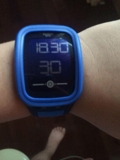 斯沃琪(Swatch)手表 Touch Zero One系列 电子男女表 零度柔粉SUVP100 晒单图