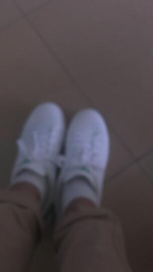 美特斯邦威集团旗下 4M  -潮流品牌 板鞋男情侣款韩版潮运动休闲青春潮流舒适小白鞋 白绿组 41 晒单图