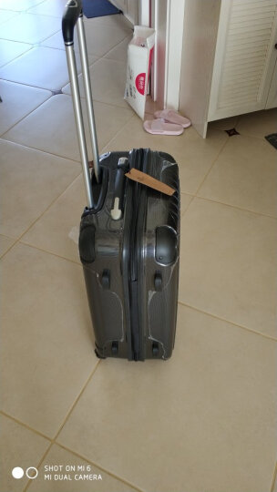 瑞动(SWISSMOBILITY)拉杆箱24英寸旅行箱 大容量行李箱轻盈静音万向轮男女 5555黑色 晒单图