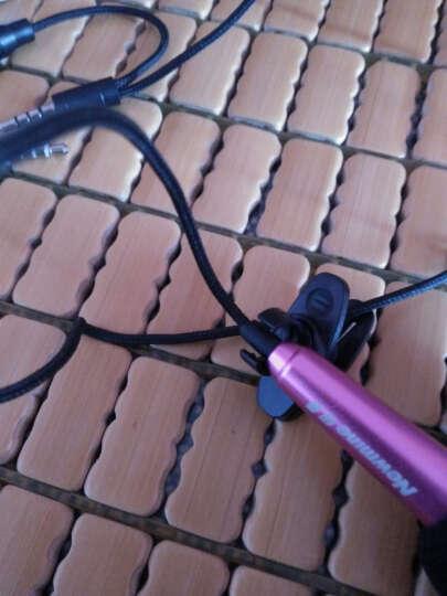 纽曼610迷你电容手机麦克风 唱吧YY网络主播录歌专用小话筒套装 电脑k歌卡拉ok适用 时尚粉 晒单图