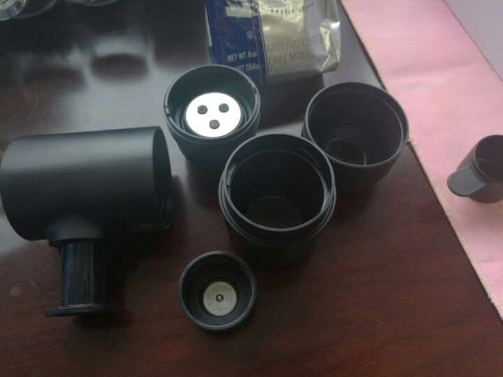 WACACO Minipresso意式便携式咖啡机 迷你手动咖啡机套装家用户外咖啡机 咖啡粉版组合星巴克进口咖啡杯 晒单图