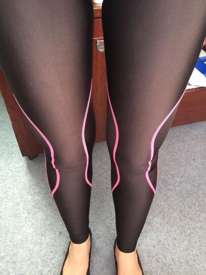 Wacoal华歌尔 CW-X STYLE FREE BOTTOM 女士专业运动压缩裤紧身裤 紫色PU M 晒单图