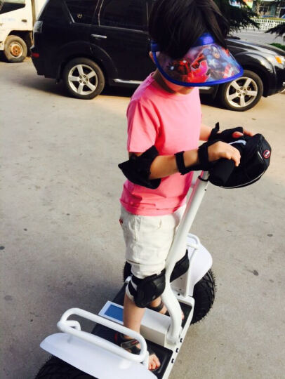 恒立通(HLT) 恒立通两轮电动平衡车越野平行车思维车智能体感代步车双轮车大轮子代步神器 白色锂电48v 晒单图
