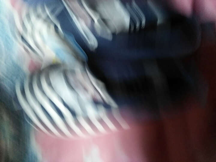 人本童鞋鱼嘴帆布鞋女童低帮单鞋透气儿童凉鞋 深蓝 32 晒单图