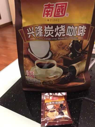 南国 兴隆炭烧咖啡320gX2袋 醇香速溶咖啡粉 海南特产 晒单图