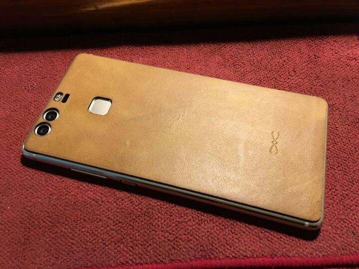 d-park 华为p9手机壳 华为p9plus真皮背贴保护套 后盖全包手机套 华为P9(5.2英寸)-驼色 晒单图