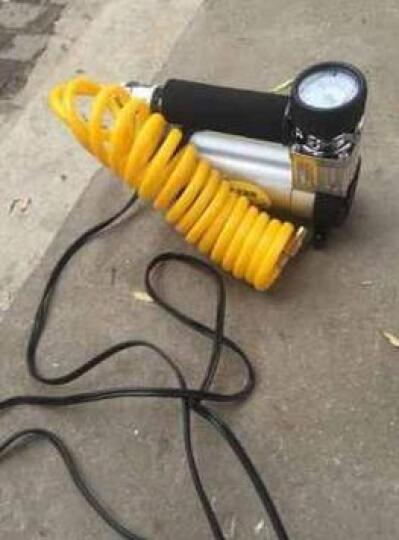 尤利特车载充气泵双缸汽车打气泵 电动12V便携式车用轮胎打气筒 【双30机械表】+收纳包 晒单图
