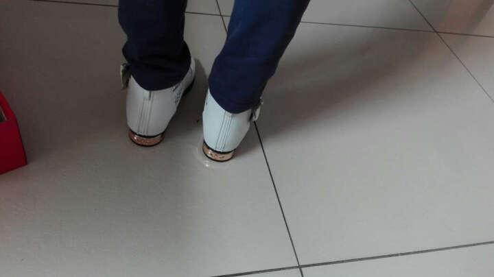晴鹿童鞋女 儿童凉鞋罗马鞋橡胶软底女童鱼嘴鞋女孩学生鞋中大童韩版公主鞋 白色16706 30码/内长18.8cm适合脚长18.3cm 晒单图