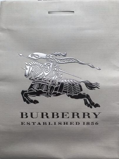 BURBERRY 巴宝莉 男女通用款黑色格纹羊绒围巾 40305001 晒单图