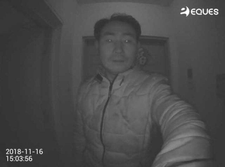 移康智能猫眼摄像头可视门铃智能猫眼wifi远程可视对讲红外夜视人体感应报警人脸识别JD1|T1 金色版A25赠16G卡+大礼包 晒单图