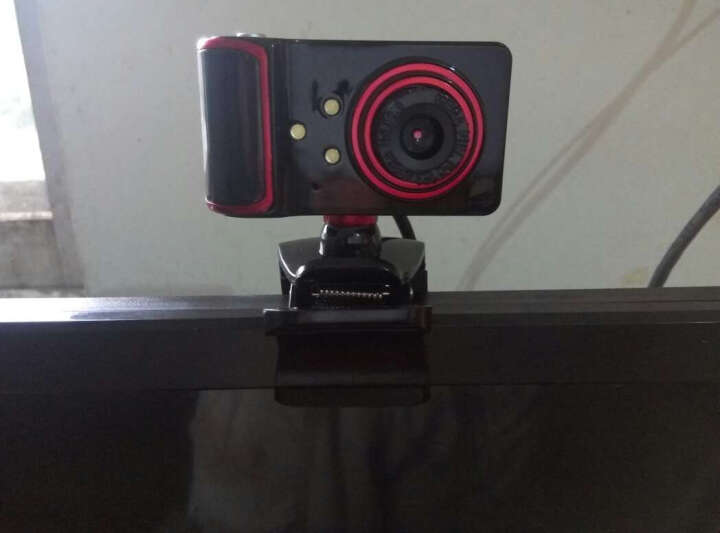 今贵 摄像头8米吸音免驱夜视笔记本用视频台式机 高清电脑摄像头带麦克风话筒 黑色银边 晒单图
