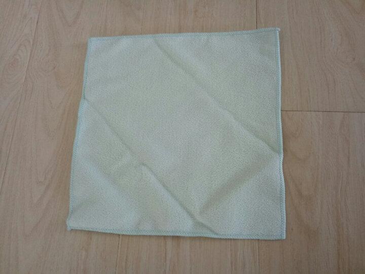 森 奕清良品 出口日本吸水抹布 洗碗布厨房清洁洗碗巾超细纤维百洁布家具擦桌布毛巾 百洁布3条装 晒单图