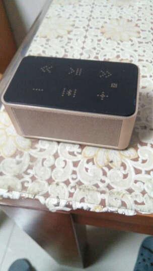 咔哟钻石蓝牙音箱 音响低音炮便携无线迷你小手机笔记本电脑 土豪金 晒单图