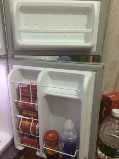 美的(Midea)小冰箱 双门 冰箱 小型 家用 迷你 冰箱 电冰箱88升BCD-88CM 晒单图