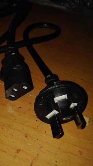 海天牛(HAITIANNIU) 1平方电源线 电饭煲水壶台式机电脑电源线服务器投影仪主机电线插头 1平方黑色 10米 晒单图