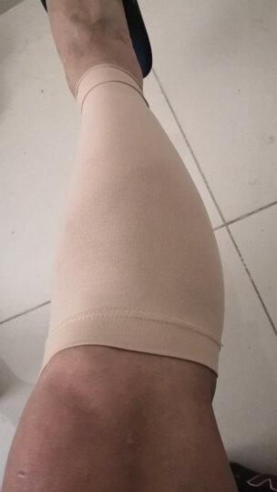 芊美姿医用静脉曲张袜治疗型弹力袜术后一级压力袜女男士护小腿袜套医疗袜 护小腿黑色一级压力(四季款) XL 晒单图