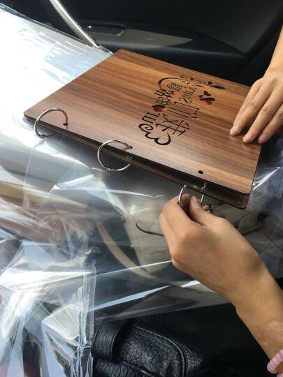 新年礼物 情人节礼物 创意礼品DIY木质相册创意礼物宝宝成长影集结婚纪念册生日礼物送女友老师 爱心墙礼盒+全套赠品 晒单图