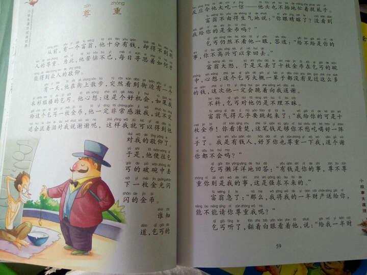 小学生课外阅读经典:小故事大道理(彩绘注音版) 晒单图