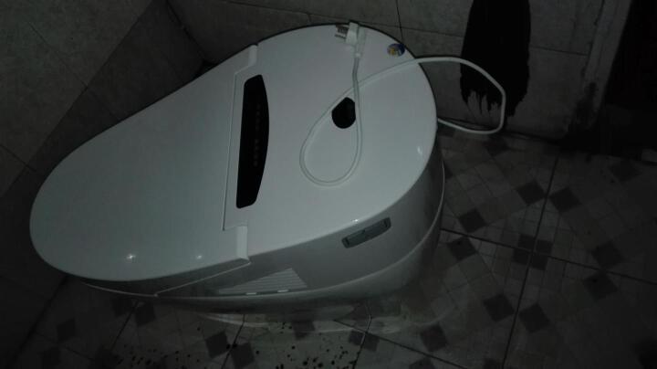皇姿 智能马桶一体机 遥控坐便器马桶盖圈加热洁身器节水防臭缓降带夜光灯 300金色座便器 晒单图