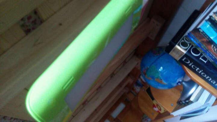 道远亮眼睛 LED护眼台灯 触摸三档调光学习阅读台夹二用灯 L8805苹果绿 晒单图