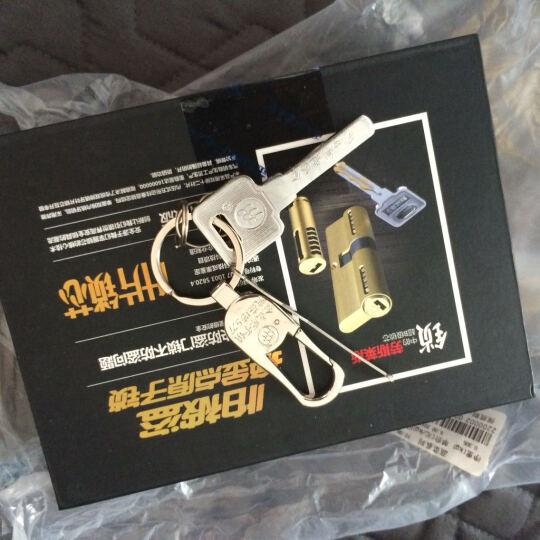 金点原子(GOLDATOM) 超B级锁芯防盗门室内外门锁锁芯 防锡纸大门叶片锁芯 Y60 Y6090#P/AB 晒单图