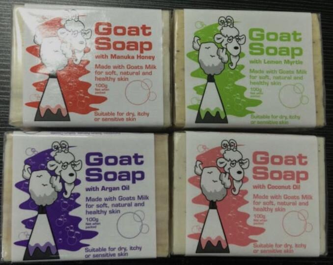 山羊奶皂 Goat Soap 手工香皂 保湿滋润 燕麦味 澳洲进口 100g 孕妇婴儿适用 晒单图