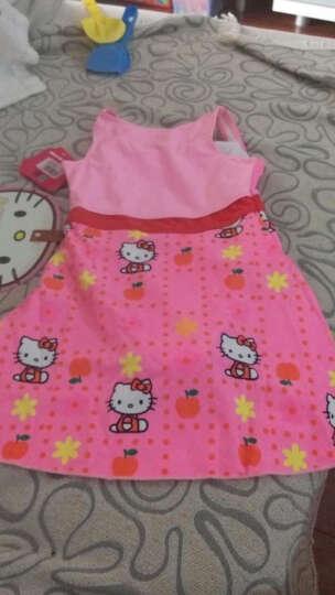 凯蒂猫(Hello Kitty)儿童泳衣女 粉色可爱连体泳衣 8(120cm/22-26kg) 晒单图