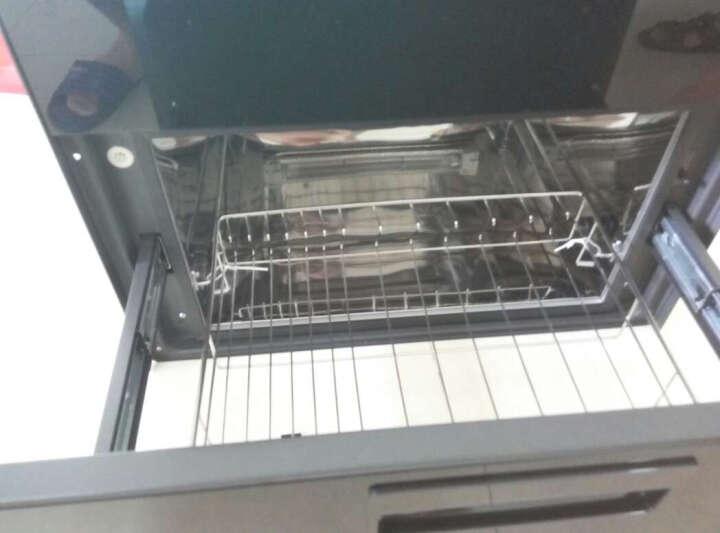 美的(Midea)消毒柜家用 碗柜 碗筷紫外线 二星级 86L 嵌入式 100Q33 晒单图