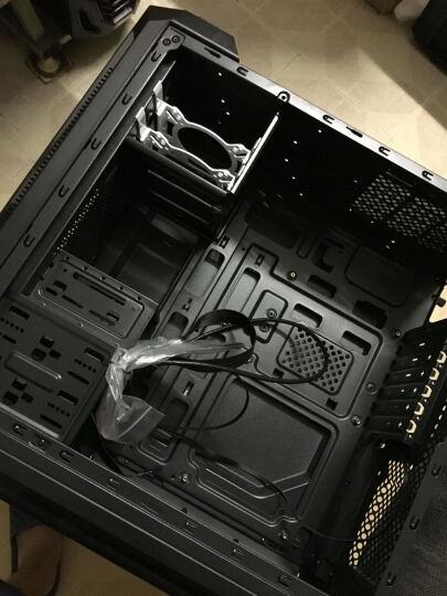 大水牛(BUBALUS)驭风者 黑色 中塔式机箱(支持ATX主板/双水冷排/大侧透/免工具/多硬盘支持/U3) 晒单图
