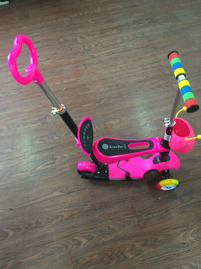恺亨 KHENG 189-1四三合一滑板车3三轮2岁小孩宝宝滑滑车学步车儿童滑板车可坐男女 晒单图