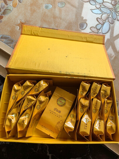 300g赛君王金骏眉武夷红茶茶叶正山小种茶独立泡袋精美礼盒装 晒单图