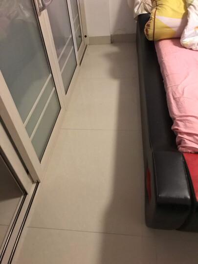 长方形卧室满铺可爱床边家用房间客厅茶几飘窗丝毛毯 天蓝 50*161cm 晒单图