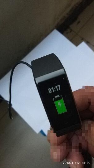 AMAZFIT 米动手环 50米防水 彩色触屏 曲面边框 计步 睡眠 通知 天气 华米科技出品 鹦鹉蓝 晒单图