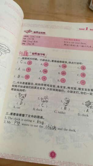 小学英语阅读理解天天练 一、二年级(第4版) 晒单图