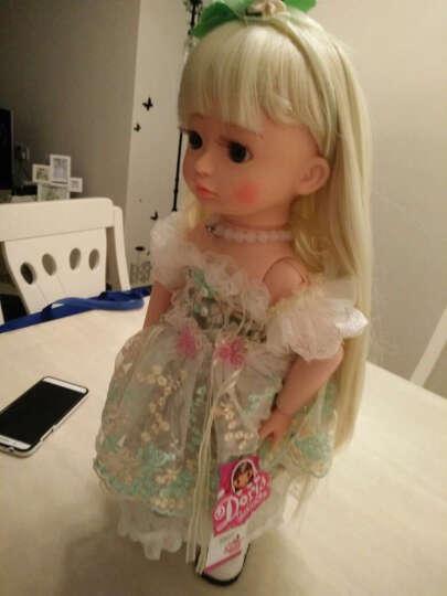 多丽丝 会说话的洋娃娃智能 比娃娃 可换发关节体仿真皮肤女孩礼物儿童玩具 动态18号送备用衣服一套 晒单图