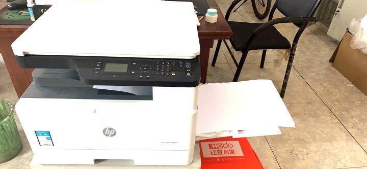惠普m433a 437n 439n 42523n 436n dn nda复印机A3打印机办公复合机 M436dn(双面打印) 官方标配 晒单图