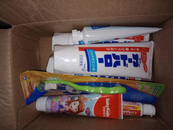 LG竹盐 2-6岁乳牙期 儿童牙膏 50g (钙+木糖醇+7无温和安全配方)(两种颜色随机发放) 晒单图